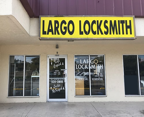 Largo Locksmith showroom