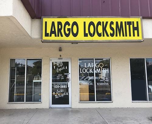 Largo Locksmith showroom