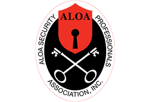 Aloa largo locksmith logo