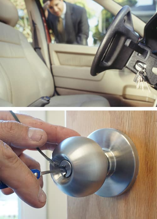 Call us for all your auto, home and office lockout emergencies.